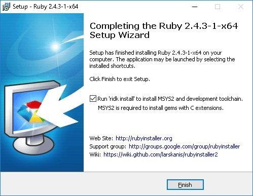 Windows Ruby on Rails